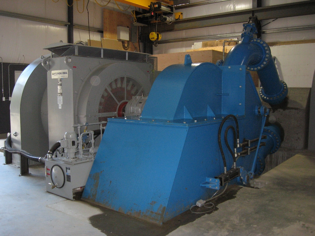 Dependable Turbines Hydroelectric Generator